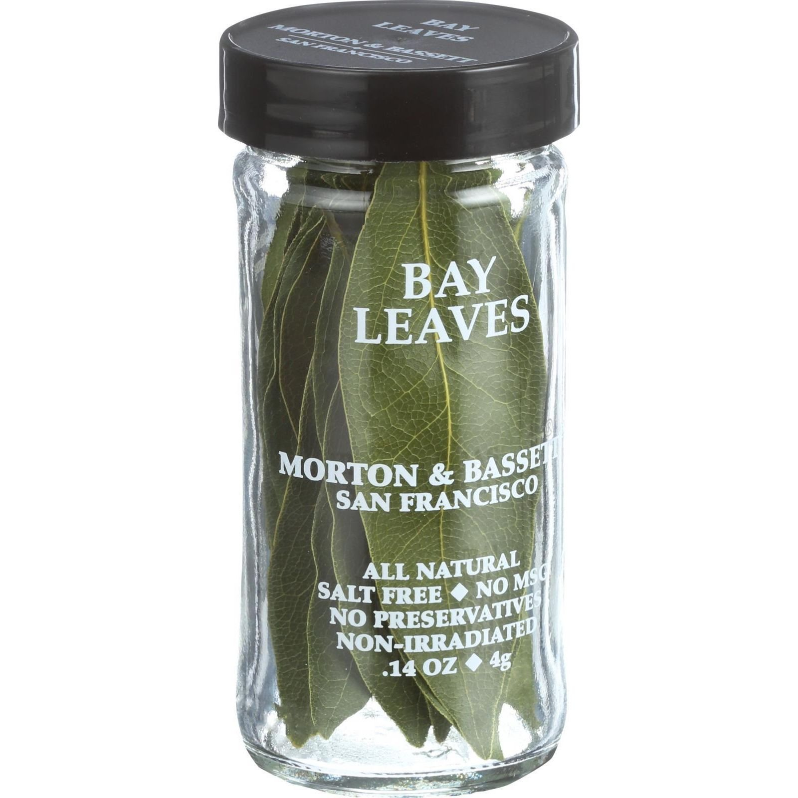 Morton and Bassett Bay Leaves - .5 oz - Case of 3