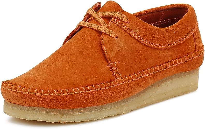 Clarks Originals Mens Spice Orange