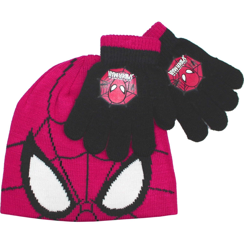 Ultimate Spiderman Thermal Winter Hat & Gloves Set