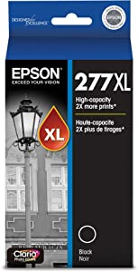 Epson T277XL120-S Claria Photo Hi-Definition Black High Capacity Cartridge Ink