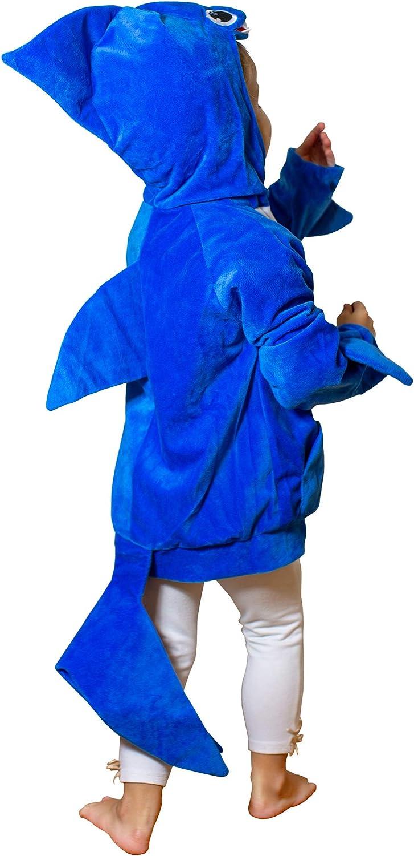 ComfyCamper Baby Shark Costume Hoodie