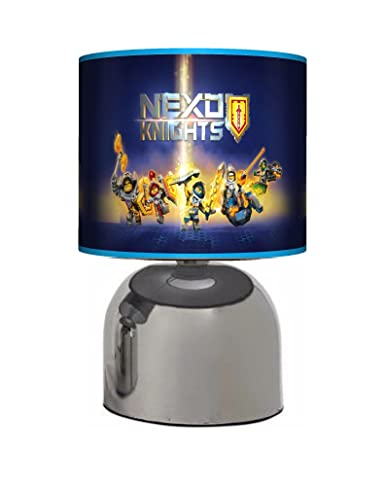 Nexo knights bedside touch lamp boys bedroom light lamp shade nexo knights bedside touch lamp boys bedroom light lamp shade mains operated aloadofball