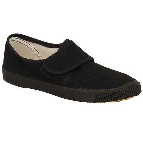 CMS Footwear - Mocasines de Tela para niño negro Black - SCHPUMP: Amazon.es: Zapatos y complementos