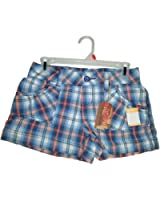 NOBO No Boundries - Plaid Girls Junior Short - Size 3