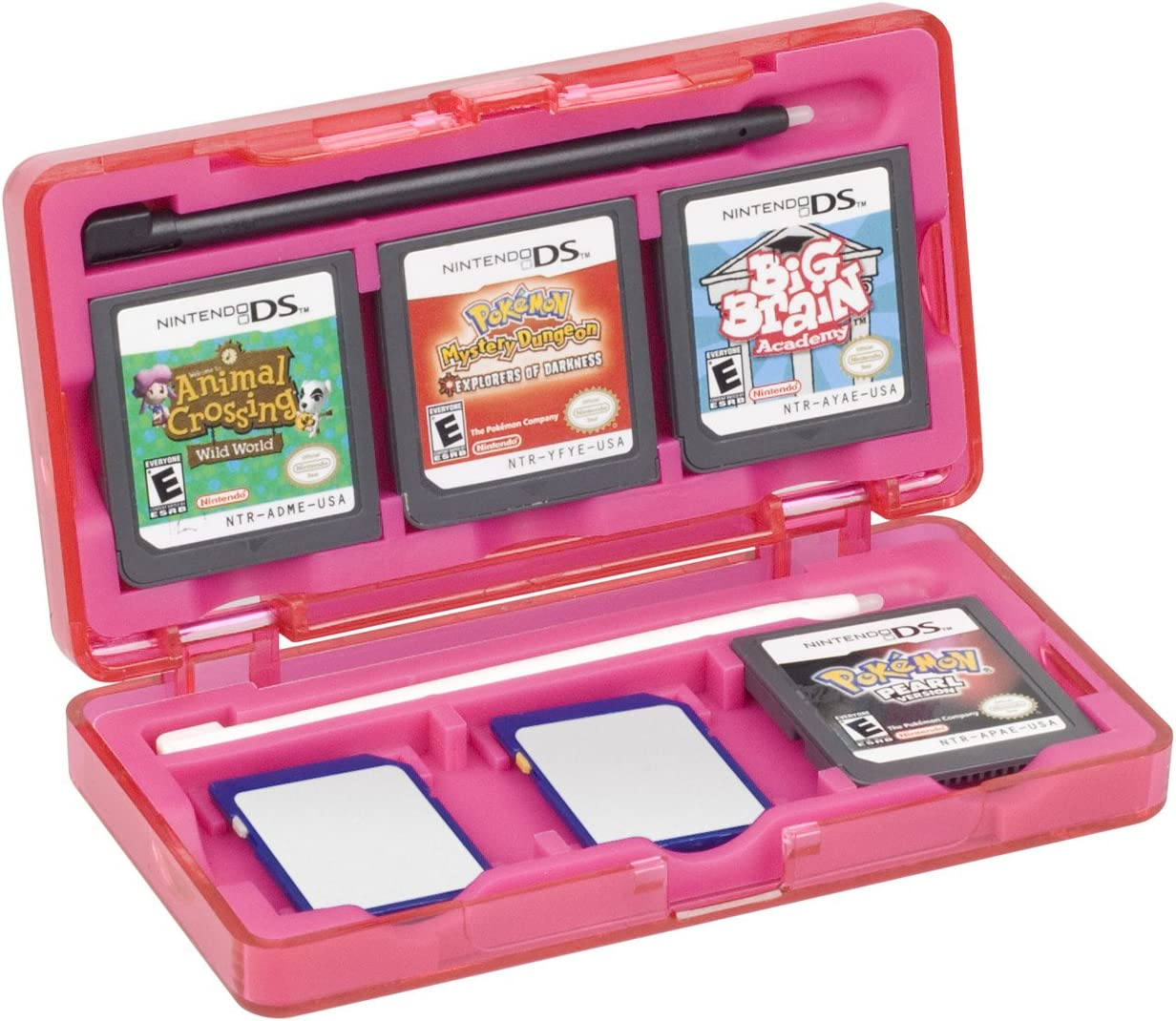 Amazon.com: DS Official Nintendo Character 6 Game Storage ...