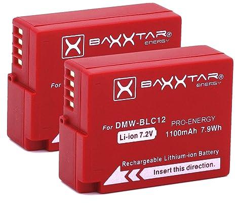 LOOKit Akku BLC12 E 1100mAh kompatibel f/ür Panasonic Lumix DC G91 G81 FZ2000 FZ1000 II G81 FZ300 FZ1000 G6M GX8M GX8 G70 FZ1000ii