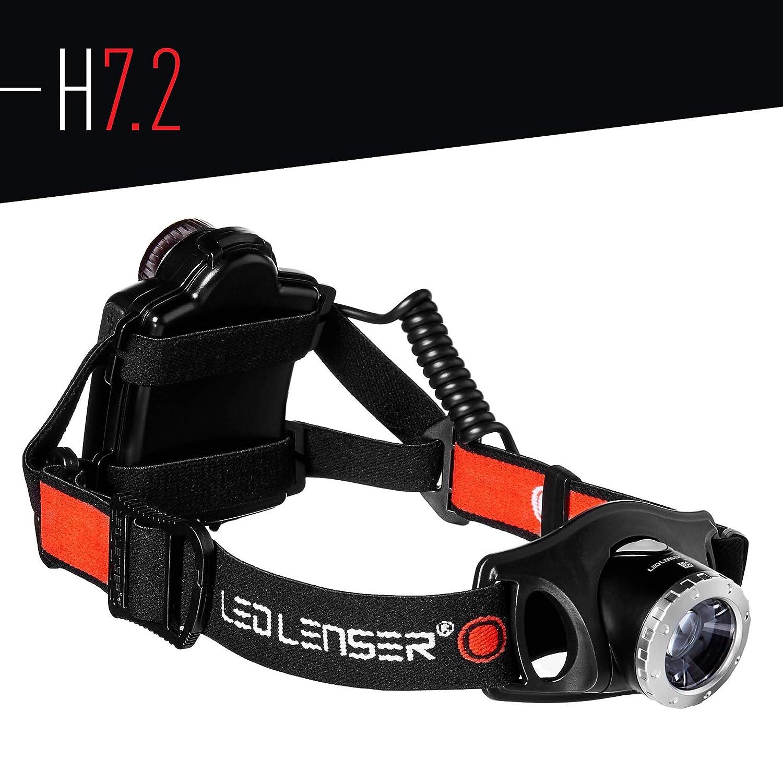 Black LED Lenser H7.2 Headlamp