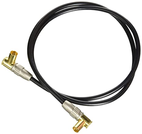 Amazon.com: aricona N Degree469 TV Aerial Cable with Right ...