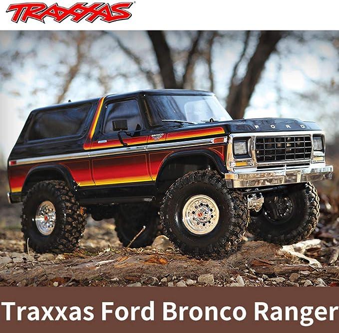 Mudguard Rubber Fender for 1//10 Scale Traxxas TRX4 Ford Bronco Ranger Crawler
