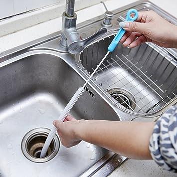 Amazon 71cm long flexible sink overflow drain dredge cleaning 71cm long flexible sink overflow drain dredge cleaning brush cleaner kitchen tool workwithnaturefo