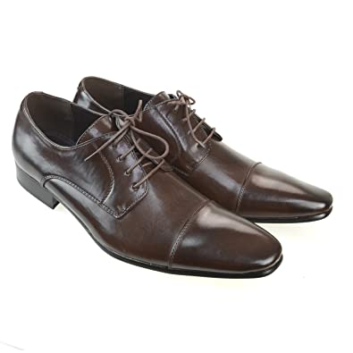 Mens Shoes Dress Shoes Loafer Casual Shoes Laceup Gift Shoes Black Dark Brown
