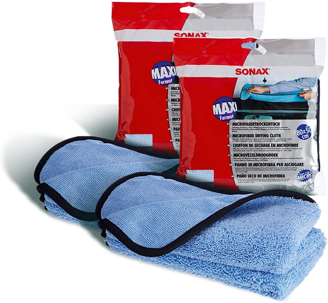 Sonax 2x 04508000 Microfasertrockentuch Waschbar 1 Stück Auto