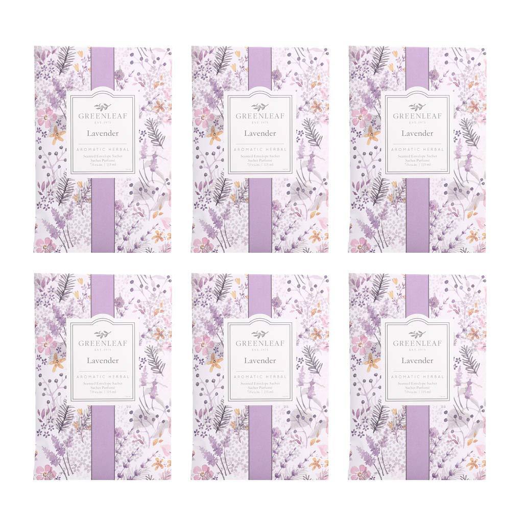 GREENLEAF Large Scented Sachet - Lavender, 6-Pack by GREENLEAF