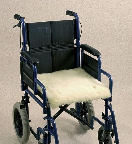 Able2 – piel de oveja protección de asiento para silla de ruedas