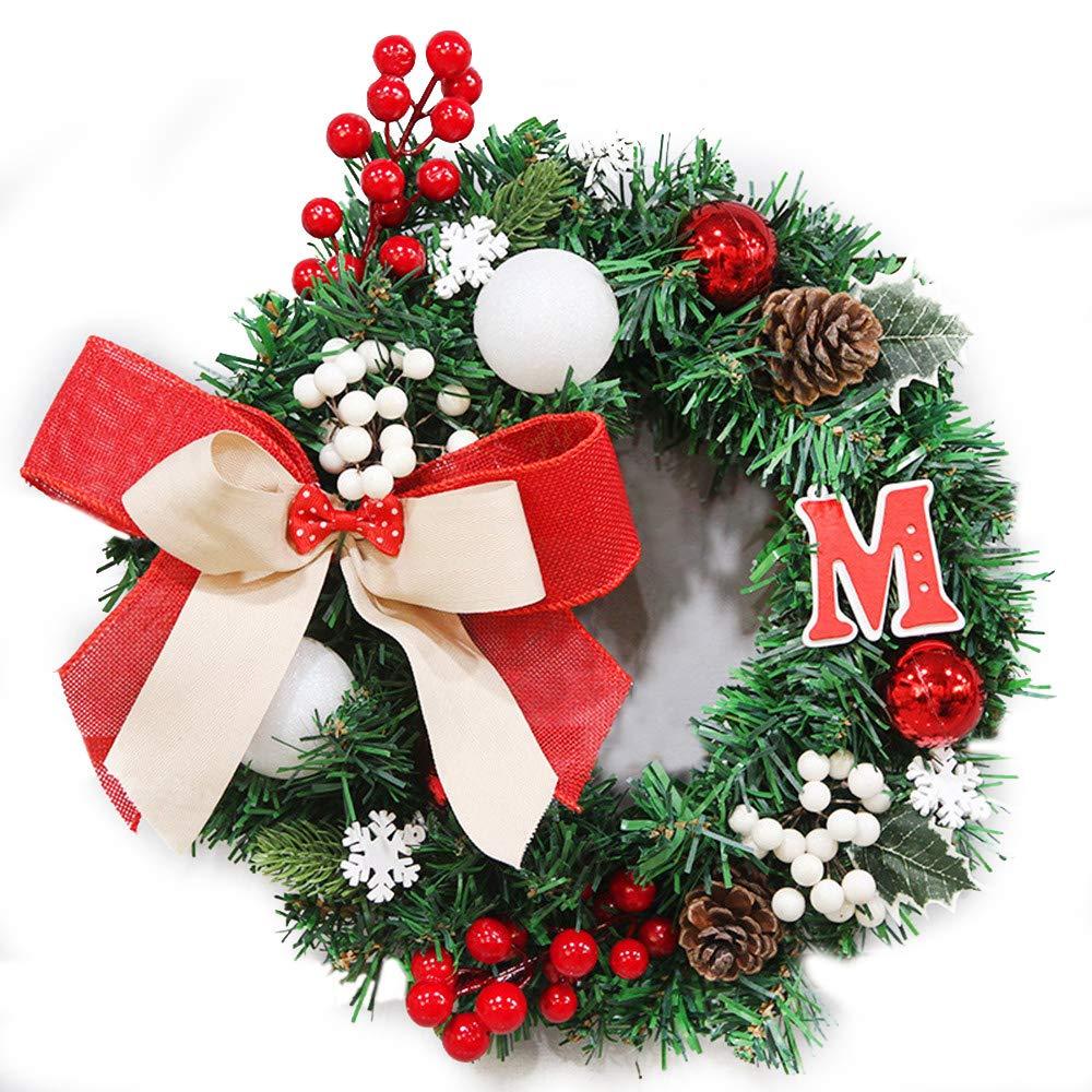 Amazon Com Baidercor 12 Christmas Wreath Decorations Berry