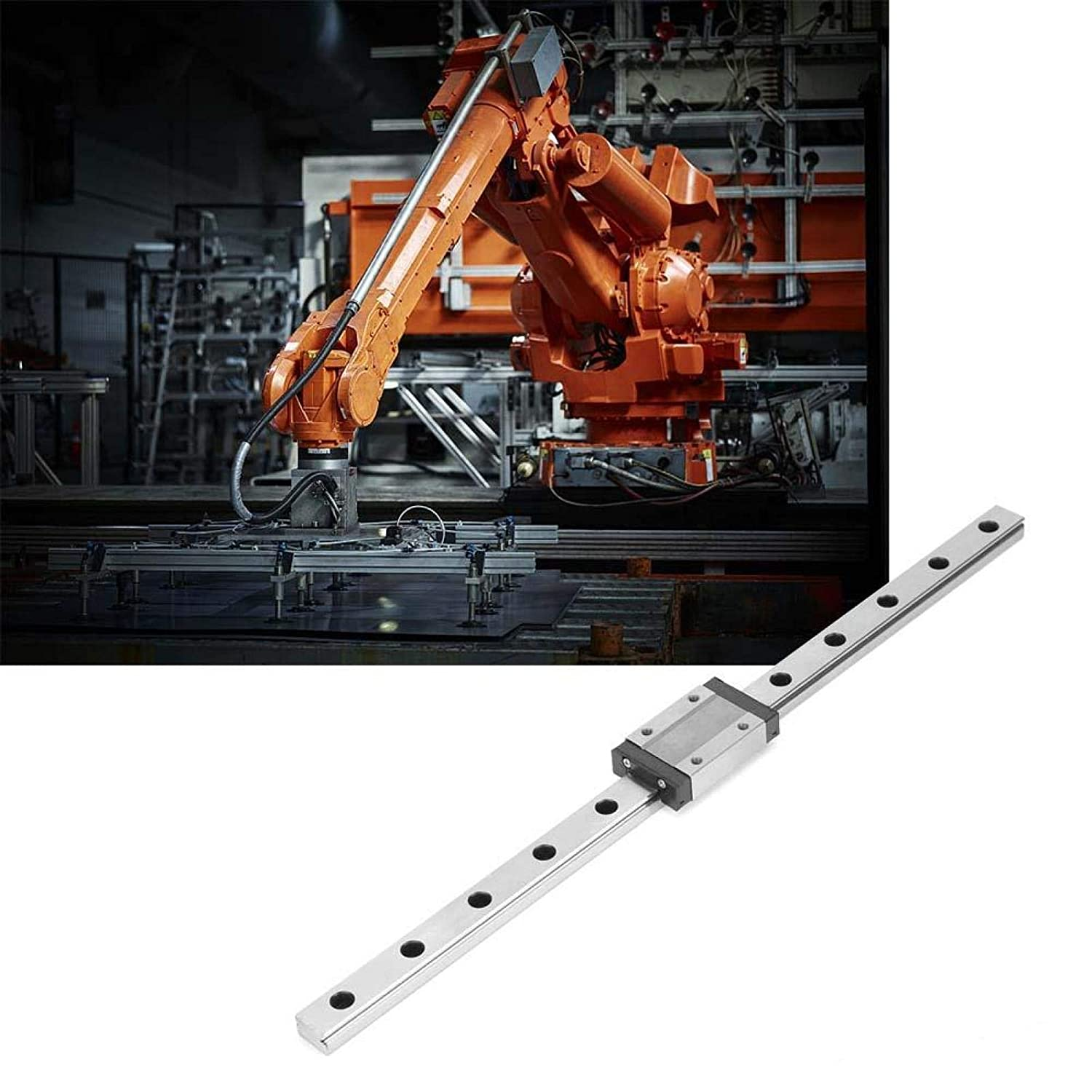 300mm 3D Printer Industrial Tools for DIY CNC Machine MGN12H Linear Rail Carriage Bearing Steel Linear Motion Rail