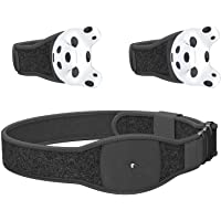 Skywin VR Tracker Belt, Hand Strap, and Protective Silicon Skins for HTC Vive System Tracker Pucks - Adjustable Belt…