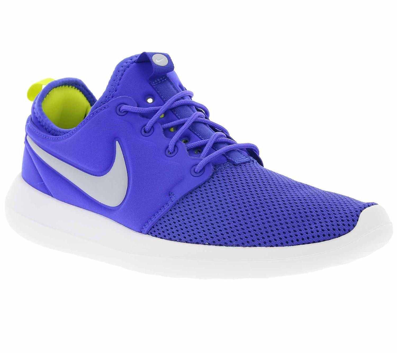 Nike Herren Roshe Two Laufschuhe  47.5 EU|Blau (Paramount Blau/ Wolf Grau/Wei? /Elektrolime)