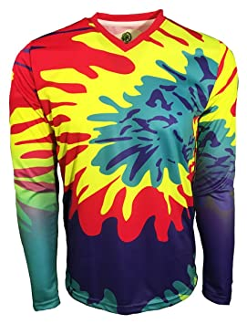 758d9ff6e8a Geko Sports Twister II Tie Dye Goalkeeper Jersey (Youth Large ...