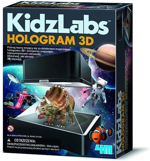 4M- Kidzlabs Proyector Holográfico, Multicolor (403394): Amazon.es: Juguetes y juegos