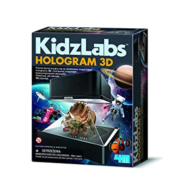 4M- Kidzlabs Proyector Holográfico, Multicolor (403394 ...