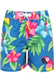 Boys Nifty Kids Printed Swimming Board Shorts Hawaiian Beach Surf Trunks