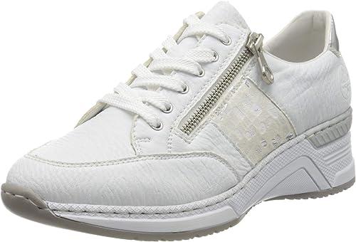 Rieker Damen FrühjahrSommer N4322 Sneaker