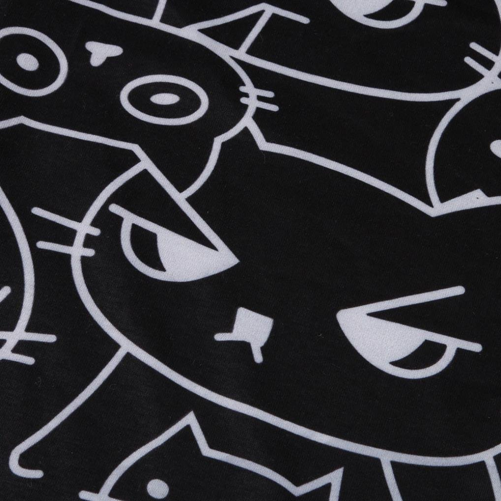 Amazon.com: Dingji Womens Print Pants, Casual Cute Cat Prints Loose Home Simple Drawstring Pants: Clothing