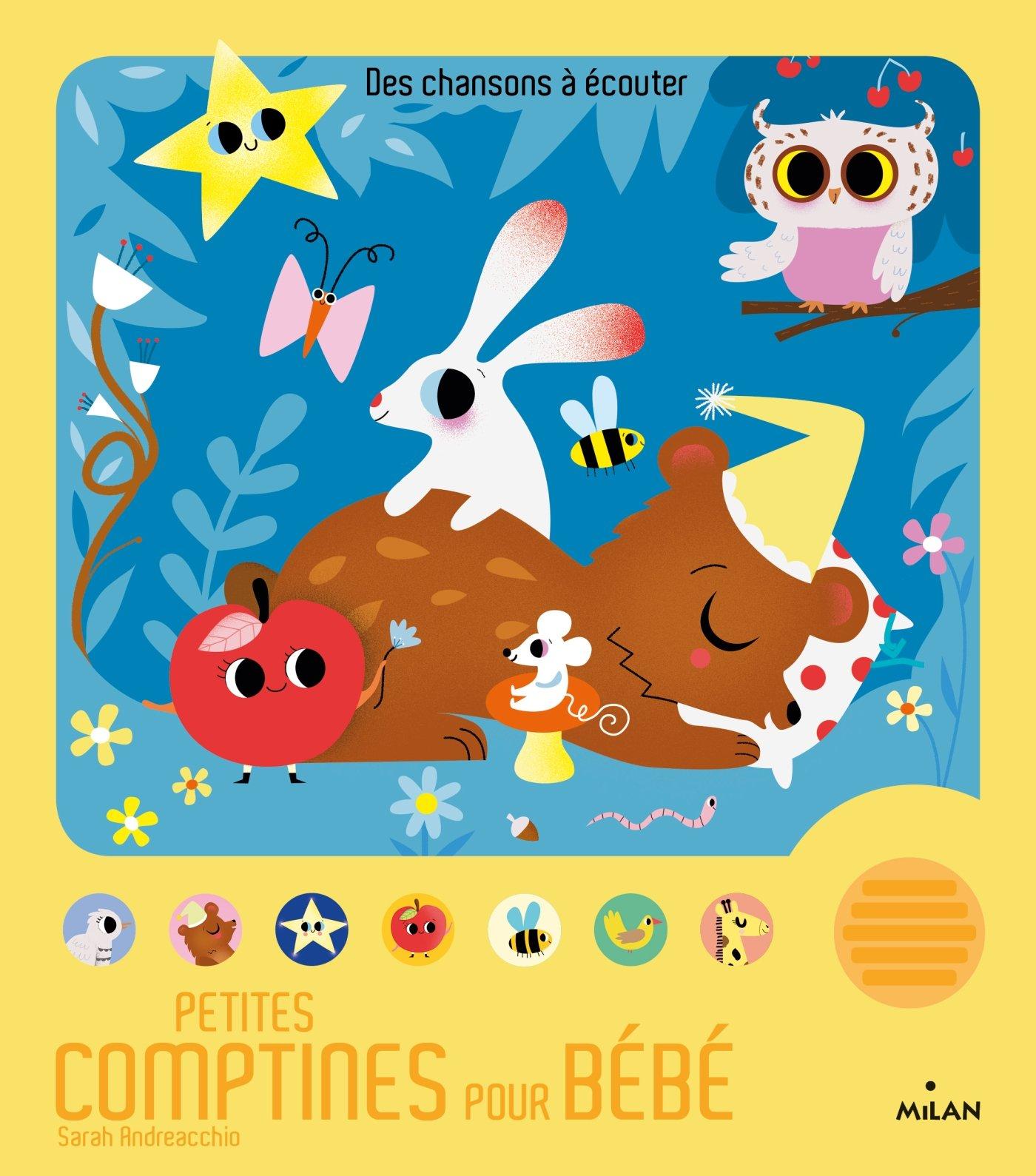 Amazon Fr Petites Comptines Pour Bébé Sarah Andreacchio
