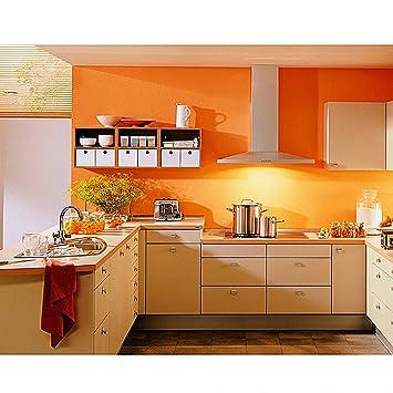4 Rollen WillGou 20 x 0.61 M Klebefolie Küche Schrankfolie PVC ...