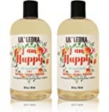 3-in-1 Baby Shampoo Bubble Bath and Body Wash - 16 oz (2 pack)- By Lil Leona
