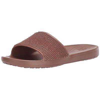 Crocs Women's Sloane Ombre Diamante Slide Sandal | Slides