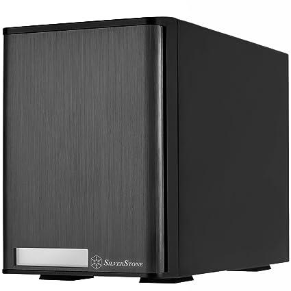 """SilverStone SST-TS432U-V2 - Carcasa para Disco Duro Externo USB 3.0 e-SATA con Almacenamiento Raid de 4 bahías, para HDD SATA o SSD DE 3,5"""", Negro"""