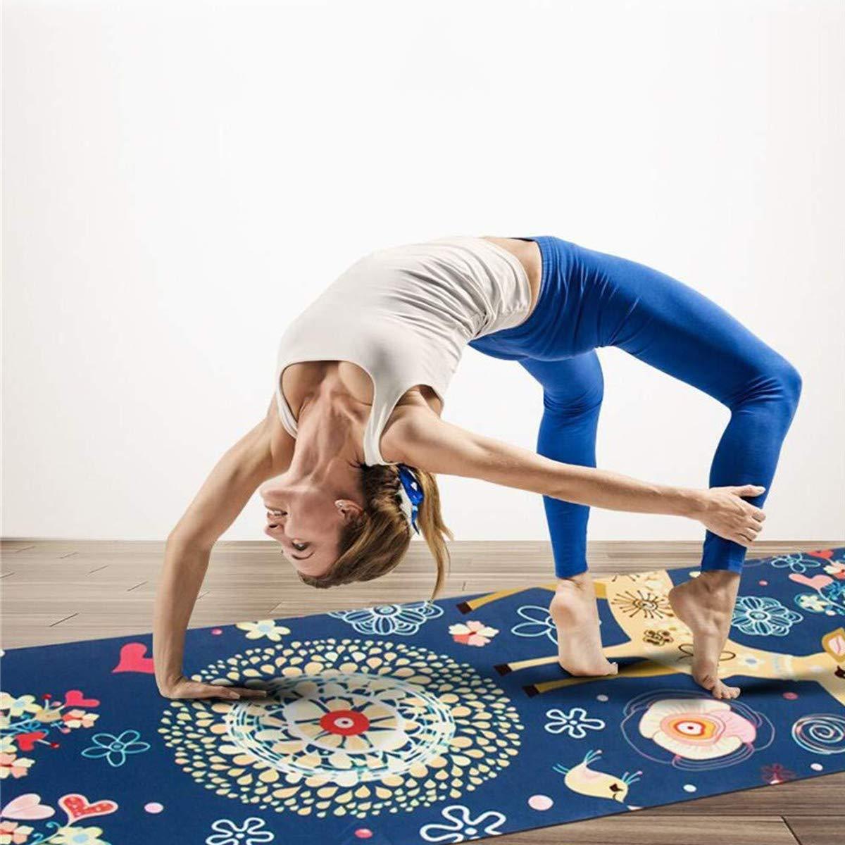 MINCHEDA Esterilla de Yoga, Colchoneta de Yoga de Corcho ...