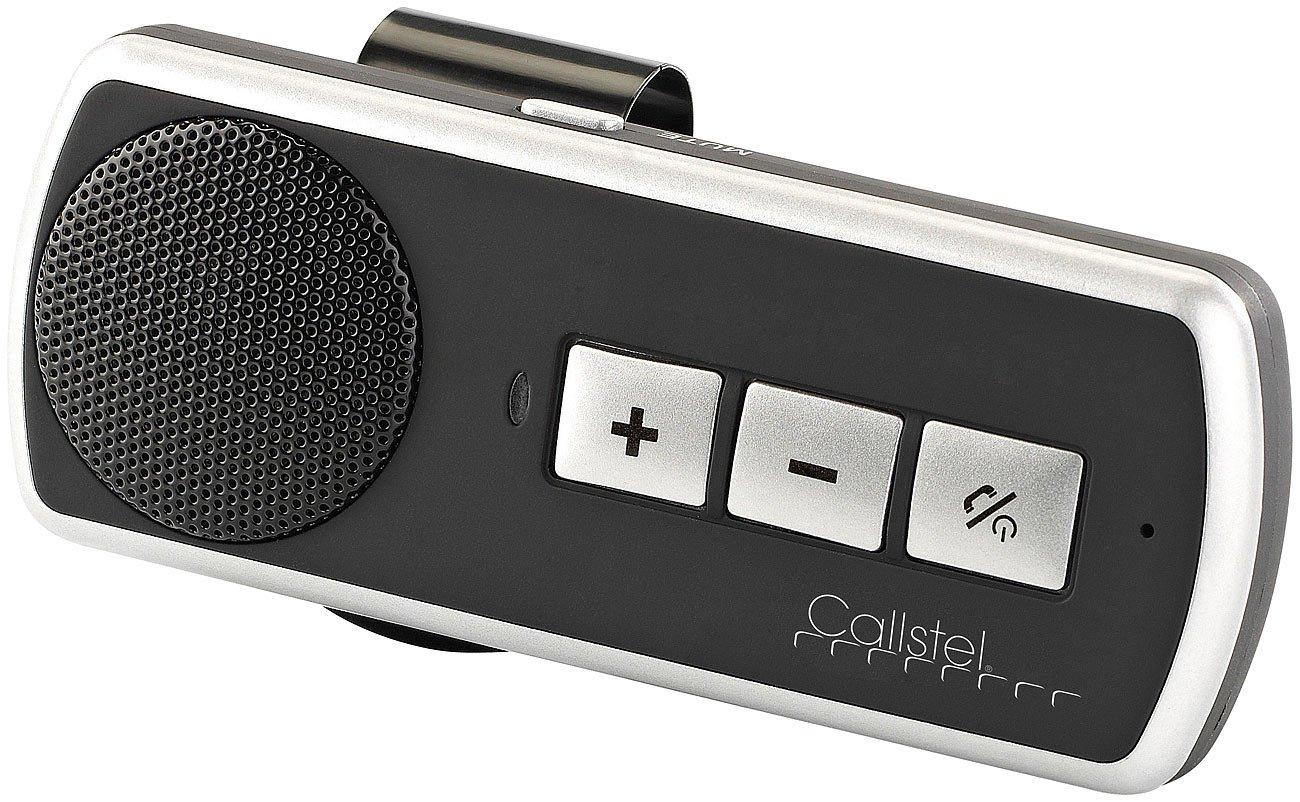Callstel Freisprechanlage: Kfz-Freisprechsystem BFX-400.pt mit Bluetooth & Multipoint (Kfz Freisprecher)
