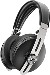 Sennheiser M3AEBTXL Momentum Wireless Noise Cancelling Headphones With Auto On/Off, Smart Pause Functionality And Smart Control App - Black