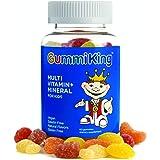 Gummi King Multivitamin and Mineral Supplement, Strawberry/Lemon/Orange/Grape/Cherry/Grapefruit, 60 Count