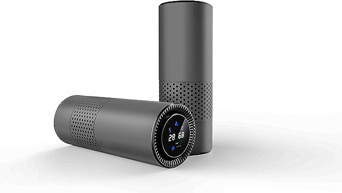 Purificador de aire para coche con filtro HEPA, carbón activo y ...