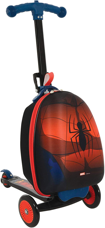 Spider-Man M004064 Scootin Maleta, Rojo