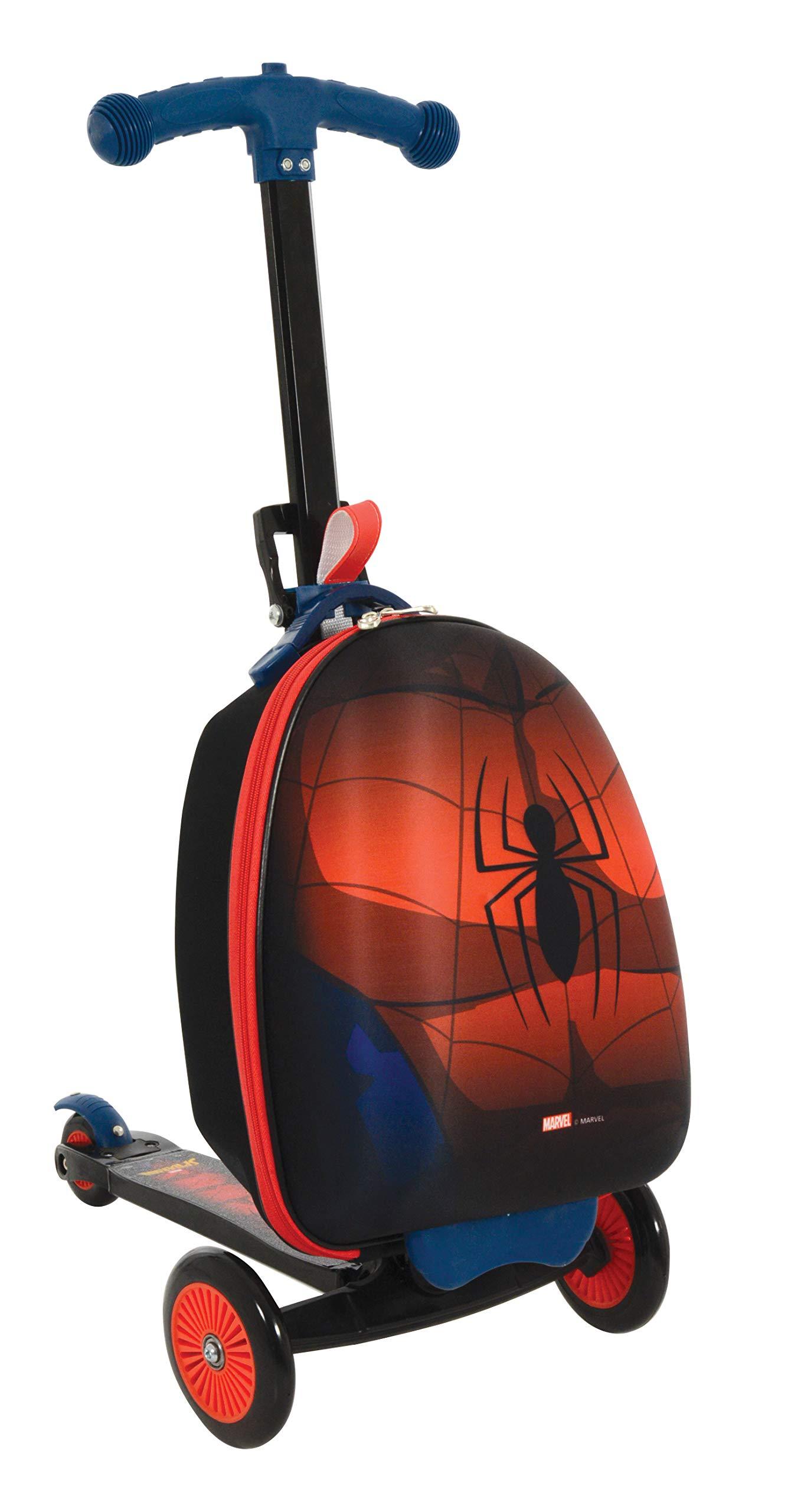 Spider-Man M004064 Scootin Suitcase, Red