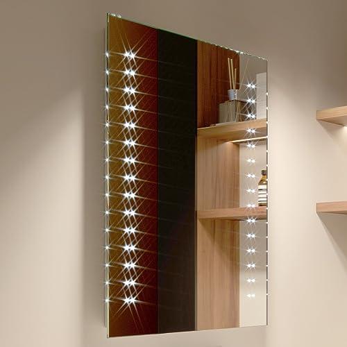 LED Illuminated Bathroom Mirror By Artforma To Measure