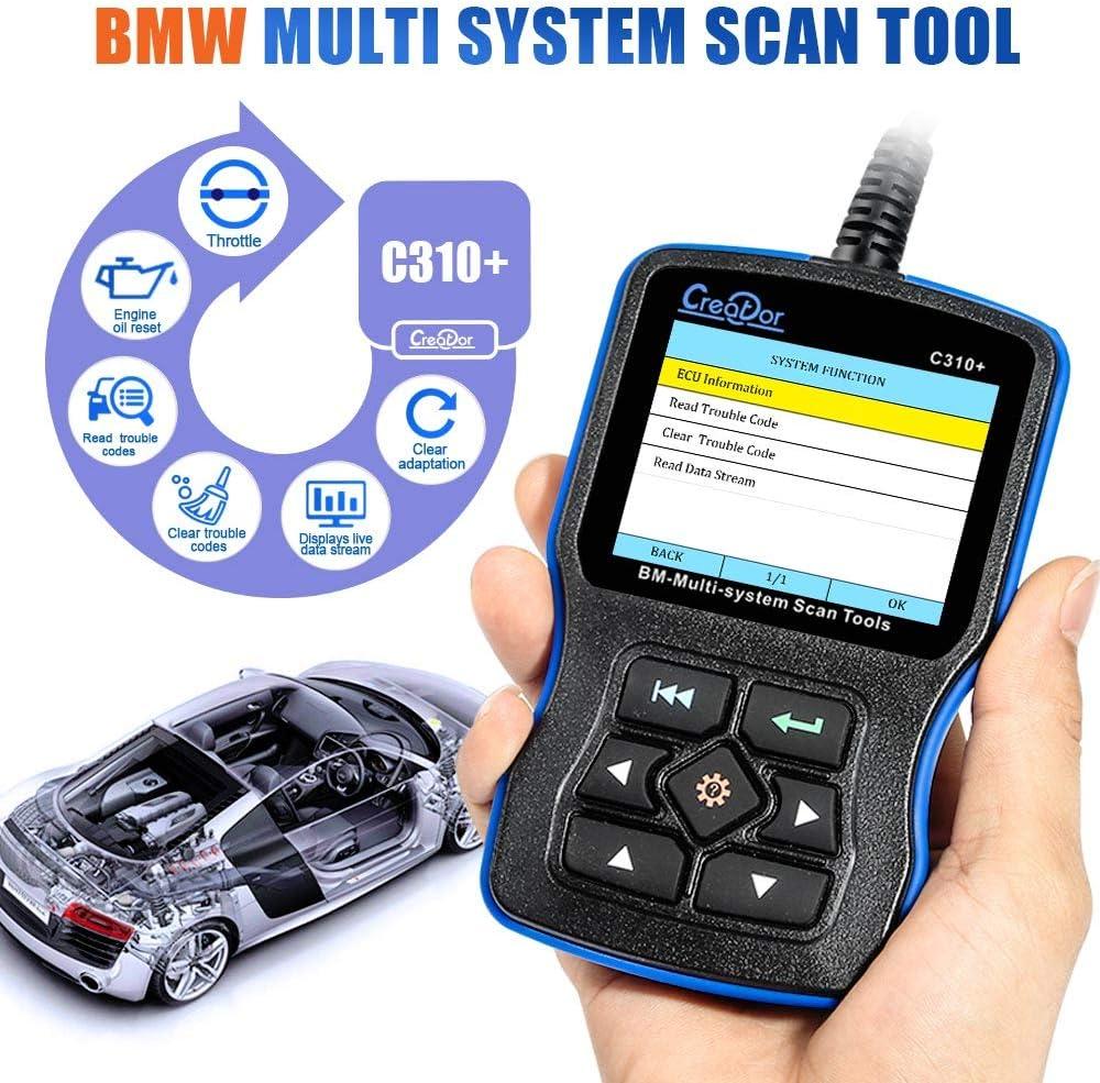 Creator C310 Multi System Scan Tool Engine fault code reader For BMW Diagnostic
