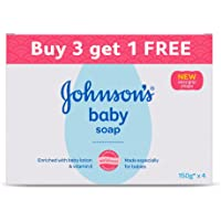 Johnson's Baby Soap 150g (Buy 3 Get 1 Free)