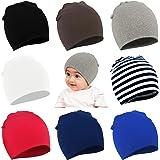 Zando Infant Toddler Baby Unisex Cotton Soft Cute Lovely Newborn Kids Hat Beanies Caps Baby Beanie for Boys Girls