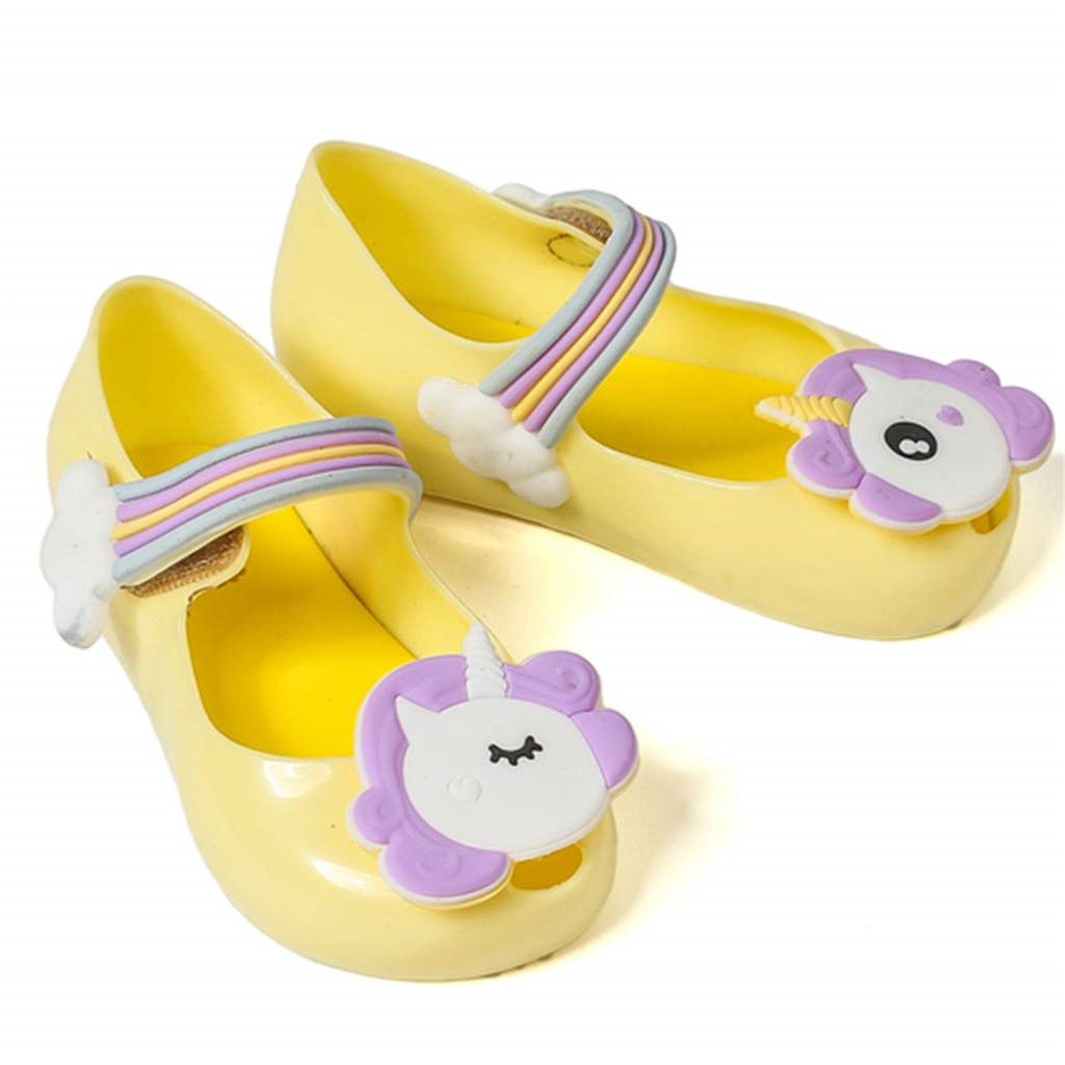 Feilongzaitianba Summer Dargon Sandals Unicorn Shoes Winter Shoe Fish Mouth Girl Non-Slip Kids Sandal Toddler