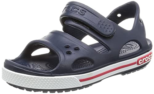 Crocs Crocband Sandal Kids - Navy Red, Dimensione:19-20