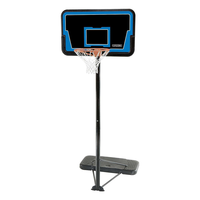 Lifetime 1268合理化Impactポータブルバスケットボールシステム、44インチバックボード B00331HFVU