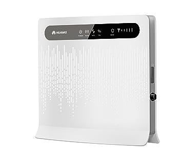 Huawei B593s-22 LTE/4G Unlocked UK Plug Wireless Router - White (150 MBPS)