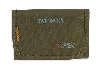 Tatonka Portefeuille avec Protection Contre Lecture RFID (RFID Block), Geldbeutel Folder RFID B, Olive