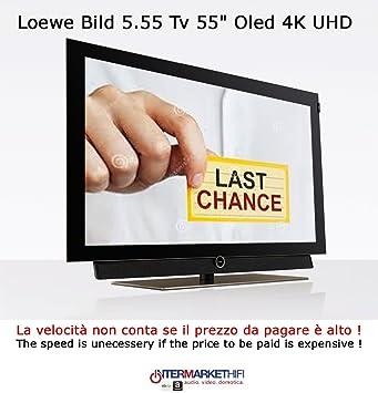 LOEWE Bild 5.55 TV 55 OLED 4 K UHD Audio 80 W/Disco Duro 1 TB/Piano Black: Amazon.es: Electrónica